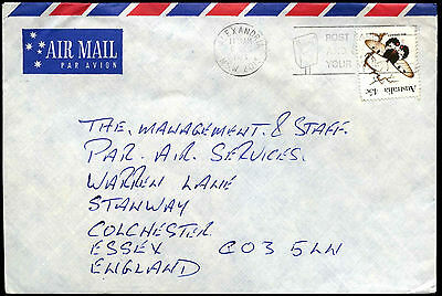Australia 1983 Commercial Air Mail Cover To UK #C37639