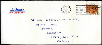 Australia 1983 Commercial Air Mail Cover To UK #C37637