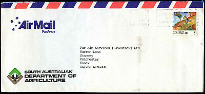 Australia 1988 Commercial Air Mail Cover To UK #C37571