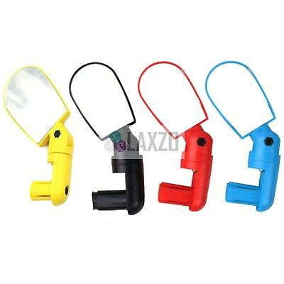 Bicycle Bike Adjustable Wide Angle Rearview Handlebar End Mirrors 6cm x 4cm MTB