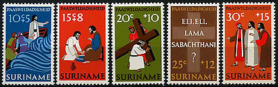 Suriname 1973 SG#744-8 Easter Charity MNH Set #D34461