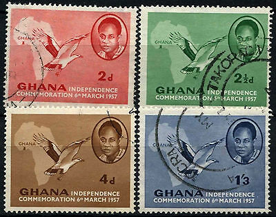 Ghana 1957 SG#166-9 Independence Used Set #D34531