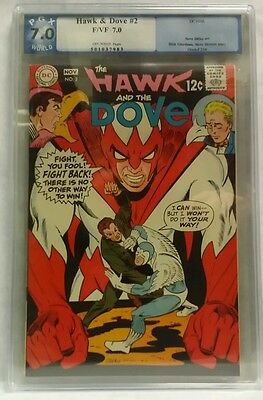 Hawk and the Dove #2 F/VF 7.0 PGX Off-white Pages - Ditko