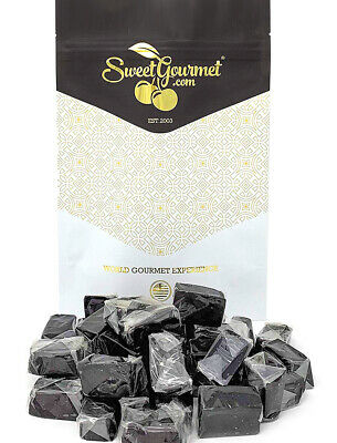 SweetGourmet Dutch Licorice Soft Caramels Candy | 15oz FREE SHIPPING!