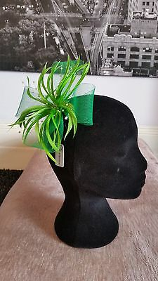 Fascinator  (Lime) Races, Wedding, Occasion, Mother of the Bride, Prom..