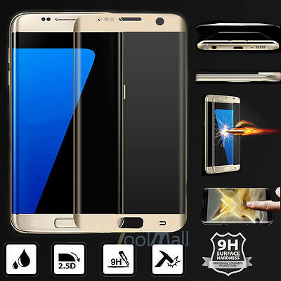 9H+Full Cover Tempered Glass Screen Protector For Samsung Galaxy S8 S7 S6 Edge+