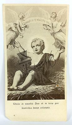 Santino Holy Card  GLORIA IN EXCELSIS DEO - novembre 1910