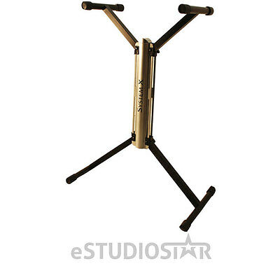 Hamilton KB7700K Stands System X Keyboard and DJ Coffin Stand NEW