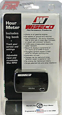 Wiseco Digital Hour Meter With Log Book