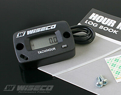 Wiseco Digital Hour Meter / Tachometer With Log Book