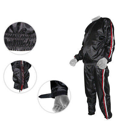 Quality Sweat Suit Sauna Exercise Gym Suit Fitness Weight Loss Heavy Duty S-4XL