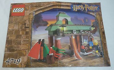 Lego Harry Potter 4719 - Quidditch supplies - INSTRUCTIONS ONLY