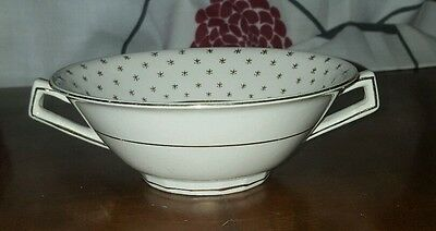 Maddock Ivory Ware Twin Handle Cup/Soup   (pt1)