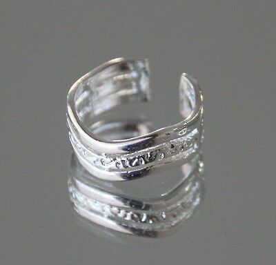 Gorgeous 925 Sterling Silver Plate Toe Ring
