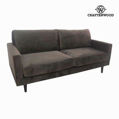Vintage 2 Seater Sofa Gray Cos Retro Canape - New 2017 Collection By CraftenWood