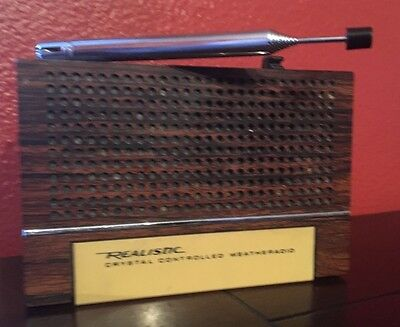 Realistic 3 Channel Crystal Controlled Weather Radio Model:12-152A Works