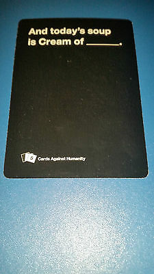 Cards Against Humanity Pick Any 2 Cards From The List $1.30 Each