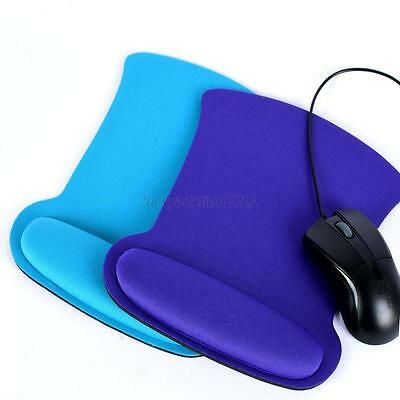 Comfort Wrist Support Mat Mouse Mice Pad Computer PC Laptop Gel Rest Colorful