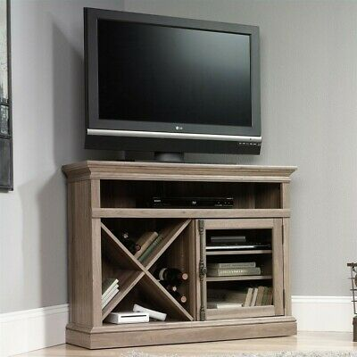 Sauder Orchard Hills Corner Tv Stand In Carolina Oak 255 97