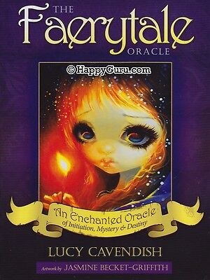 """""""the Faerytale Oracle"""" By Lucy Cavendish (Oracle Cards)"""