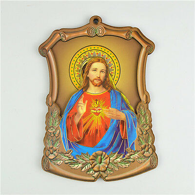 Wooden Religious Holy Jesus Catholic Saint Picture Wall Plaques
