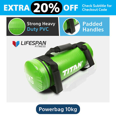 Lifespan 10Kg Crossfit Power Sand Bag Strength Training Fitness