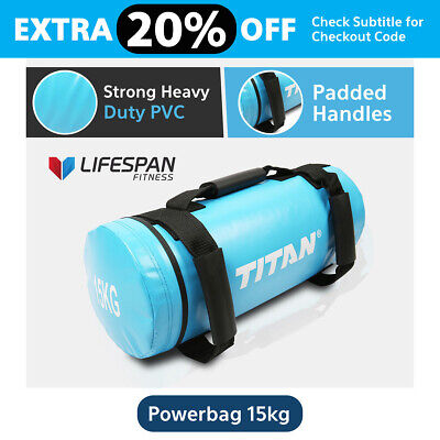 Lifespan 15Kg Crossfit Power Sand Bag Strength Training Fitness