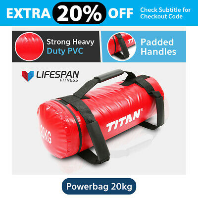 Lifespan 20Kg Crossfit Power Sand Bag Strength Training Fitness