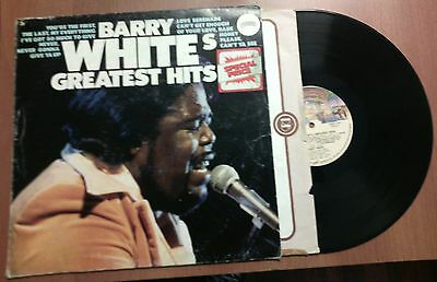 Barry White's - Greatest Hits Lp 33 Giri