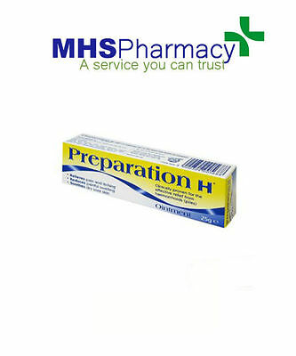 Preparation H Ointment 25g Piles Soothing Relief