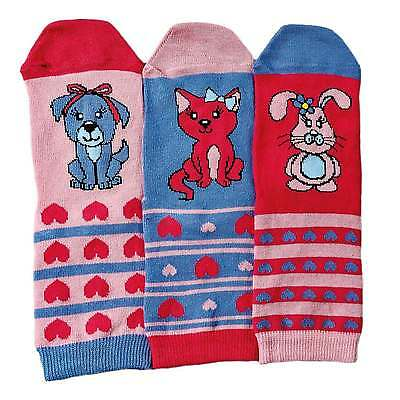 Pets Oddsocks Set of 3 Kid's Socks by United Oddsocks (UK 9-12)