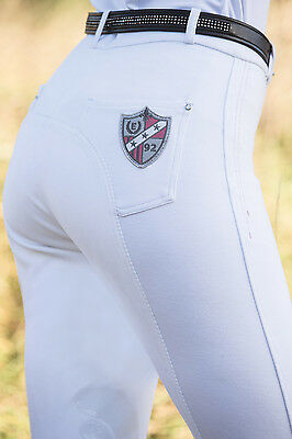 Equetech Ladies Shield Full Seat Breeches BLACK NAVY or WHITE *SALE* were £78.50