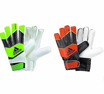 adidas Predator Boys Mesh Orange & Green Boys Junior Goalkeeper Gloves 3.5 - 8