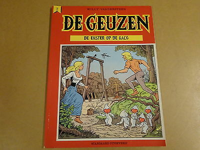 Strip 1° Druk Willy Vandersteen / De Geuzen N° 2