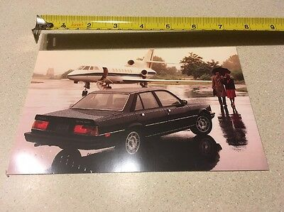 1984 Peugeot 505 Turbo Post Card 7x5""