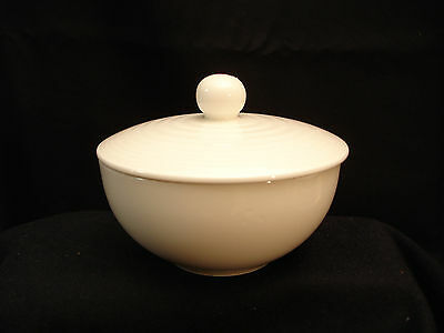 Gordon Ramsay Maze White / Bone by Royal Doulton SUGAR BOWL & LID 2""