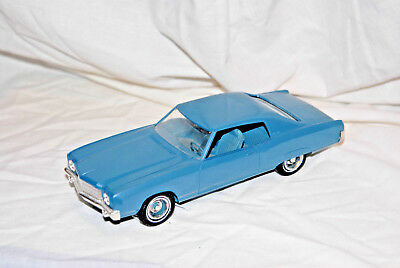 1970 Chevy Monte Carlo, 2 DR HT, 1/25 scale, promo, AMT, USA