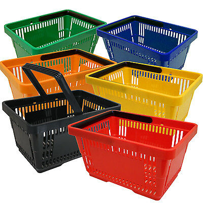 Shopping basket Sales Plastic Carry cot Hand 21L Color selection