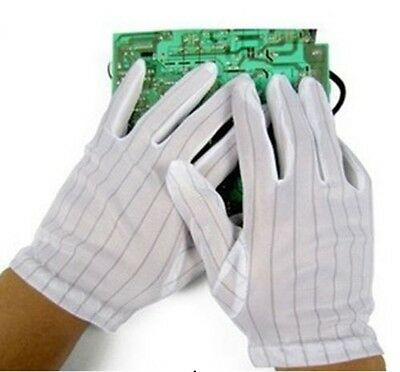 1 Pair Anti Static Gloves ESD for Computer Electronics Network Safety