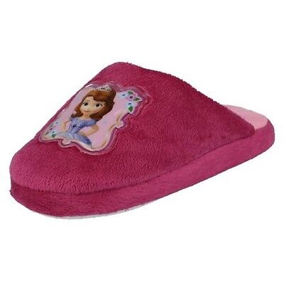 Girls Disney Princess Sofia The First Slippers - WD8166