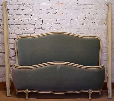 A French 5ft Kingsize Demi Corbeille Bed inc. Reupholstery (exc. Fabric)
