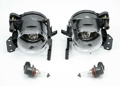 Bmw 5 Series E60 E61 M5 Fogs Fog Lights Lamps M5 Sport Set With Bulbs Pair