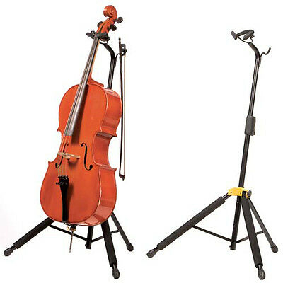 Hercules DS580B Adjustable Cello Instrument Stand - AUTHORIZED DEALER!
