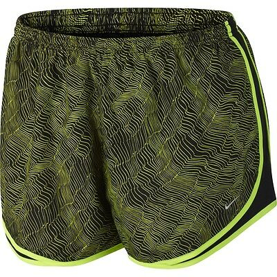 Womens NIKE DRI-FIT Tempo shorts PLUS Size 3x 3xl Track running 22 24 print volt