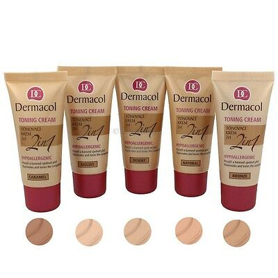 Dermacol Toning Cream 2 in 1 ***Farbauswahl***