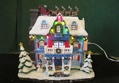 Thomas Kincaid T'was the Night Before Christmas Collectable House