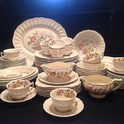 Royal Doulton Grantham China Large Collection Set in Excellent Condition