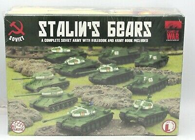 Flames of War SUAB07 WWII Soviet Stalin's Bears Starter Army Set Rules Tanks NIB