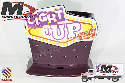 New Scentsy Warmer - 2012 Las Vegas Convention - Light It Up - Shipped Same Day*