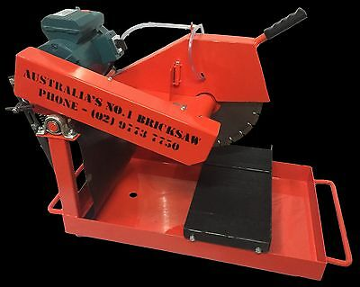 "14"" Bricksaw - with mobile stand"